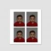 4 pasfoto's (baby's en kinderen tot 6 jaar oud)