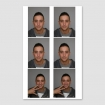 6 pasfoto's